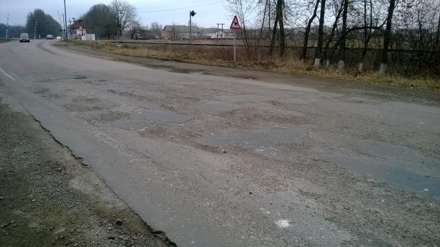 Main road in Russia